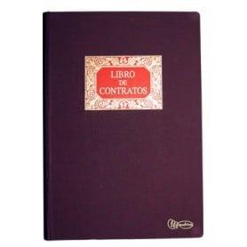 Libro Contratos 100 hojas fijas