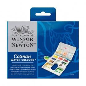 Caja Acuarela 14 Colores Cotman Winsor & Newton