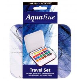 Set Viaje Acuarela 24 Colores Aquafine Daler Rowney