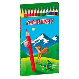 Lápices 12 Colores Alpino
