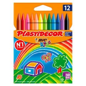 Ceras 12 Colores Plastidecor
