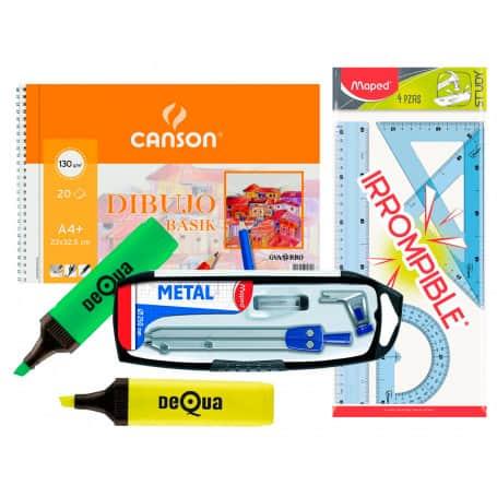 Pack Material Escolar Dibujo