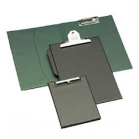Carpeta con miniclip superior Negro