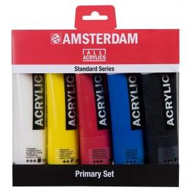 Set Acrílicos Primarios Amsterdam