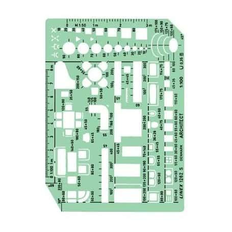 Plantilla De Muebles Linex 1263s Escala 1 50