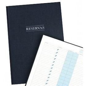 Libro de reservas Azul marino