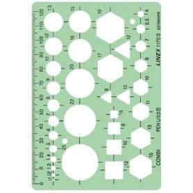 Plantilla combinada Linex 1170S