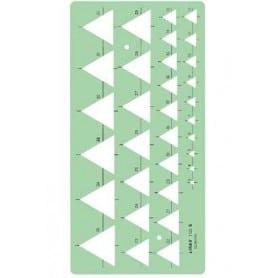 Plantilla de triángulos Linex 1133S
