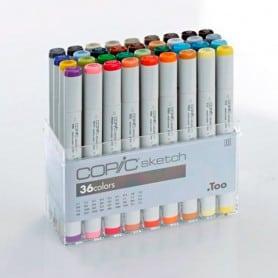 Rotuladores Copic Sketch Set 36 Colores