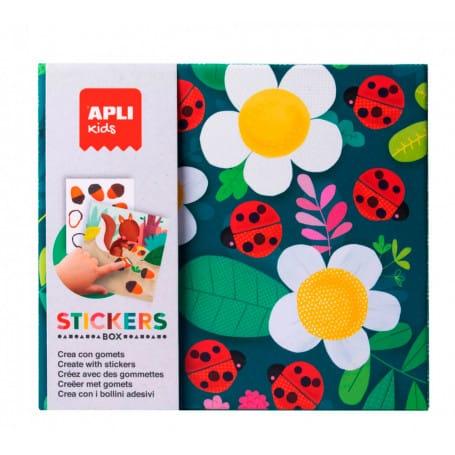 Stickers Caja Temática Apli Kids