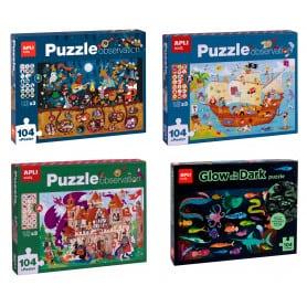 Puzzle 104 Piezas Apli Kids