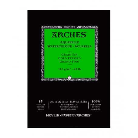 bloc-acuarela-arches-goya-grano-fino-185-gr-a3