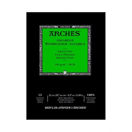 bloc-acuarela-arches-goya-grano-fino-185-gr-a4