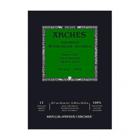 bloc-acuarela-arches-goya-grano-grueso-300-gr-a3