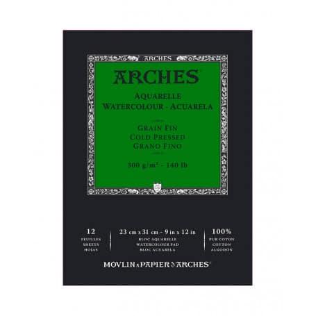 bloc-acuarela-arches-goya-grano-grueso-300-gr-23x31
