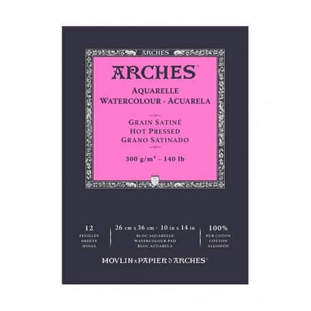 bloc-acuarela-arches-goya-grano-satinado-300-gr-26X36