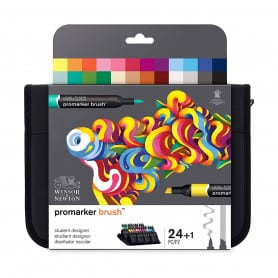 Set 24 Brushmarker Student Designer Winsor & Newton