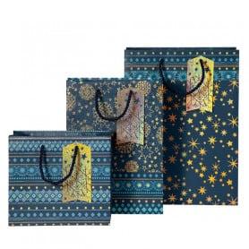 Bolsa de Regalo Azul con Estrellas Artebene