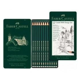 Set Lápices Faber-Castell 5b a 5h