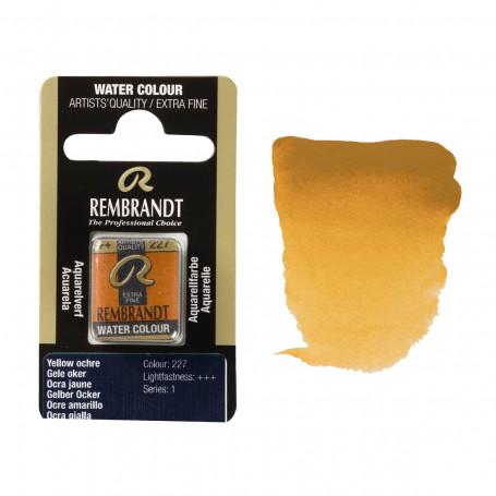 acuarela-rembrandt-medio-godet-serie-1-goya-227-ocre-amarillo