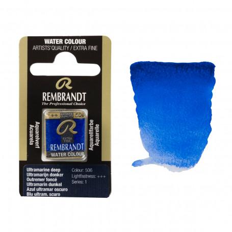 acuarela-rembrandt-medio-godet-serie-1-goya-506-azul-ultramar-oscuro