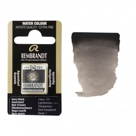 acuarela-rembrandt-medio-godet-serie-1-goya-701-negro-marfil