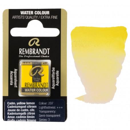 acuarela-rembrandt-medio-godet-serie-3-goya-207-amarillo-cadmio-limon