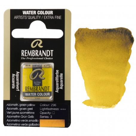 acuarela-rembrandt-medio-godet-serie-3-goya-296-verde-amarillo-azo