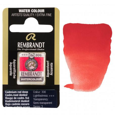 acuarela-rembrandt-medio-godet-serie-3-goya-306-rojo-cadmio-oscuro