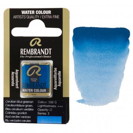 acuarela-rembrandt-medio-godet-serie-3-goya-598-azul-ceruleo-verde