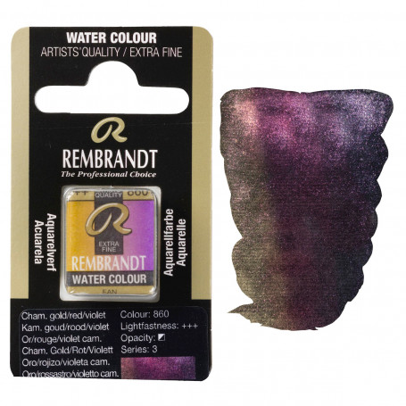acuarela-rembrandt-medio-godet-serie-3-goya-860-oro-rojo-violeta-camaleon