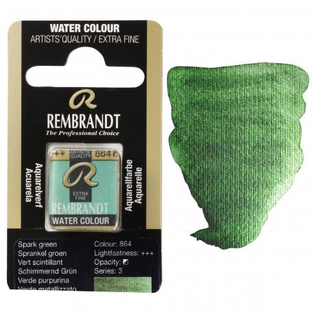 acuarela-rembrandt-medio-godet-serie-3-goya-864-verde-purpurina
