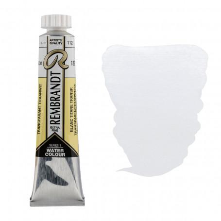 acuarela-rembrandt-tubo-20-ml-serie-1-goya-106-blanco-titanio-transparente