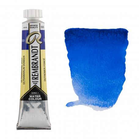 acuarela-rembrandt-tubo-20-ml-serie-1-goya-506-azul-ultramar-oscuro