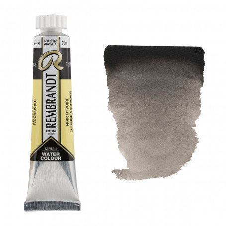 acuarela-rembrandt-tubo-20-ml-serie-1-goya-701-negro-marfil