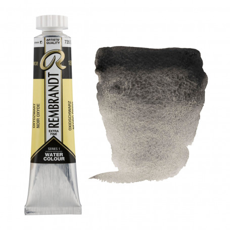 acuarela-rembrandt-tubo-20-ml-serie-1-goya-735-negro-oxido