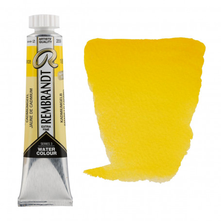 acuarela-rembrandt-tubo-20-ml-serie-3-goya-209-amarillo-cadmio