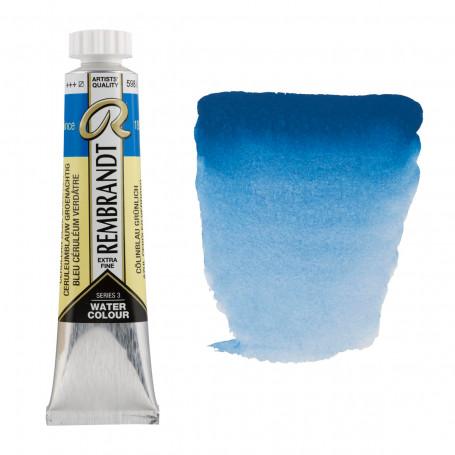 acuarela-rembrandt-tubo-20-ml-serie-3-goya-598-azul-ceruleo-verde