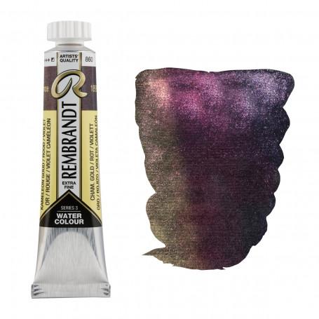 acuarela-rembrandt-tubo-20-ml-serie-3-goya-860-oro-rojo-violeta-camaleon