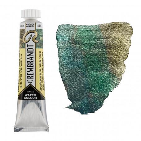 acuarela-rembrandt-tubo-20-ml-serie-3-goya-863-azul-verde-oro-camaleon