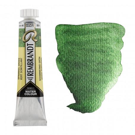 acuarela-rembrandt-tubo-20-ml-serie-3-goya-864-verde-purpurina