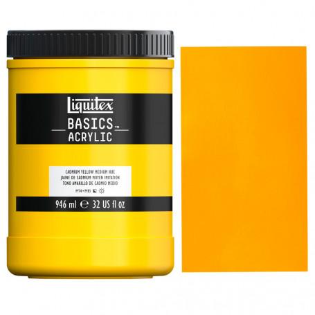 acrilico-basics-946-ml-liquitex-goya-161-amarillo-de-cadmio-medio