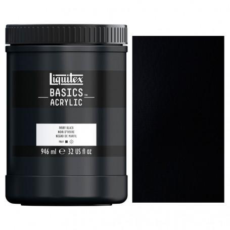 acrilico-basics-946-ml-liquitex-goya-244-negro-de-marfil