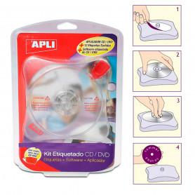 Kit Etiquetado CD DVD Apli