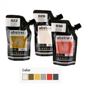 Acrílico Abstract Iridiscentes 120 ml Sennelier