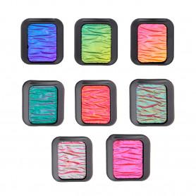Acuarela Colores Flip-Flop Pastilla 30x22 Finetec Sema