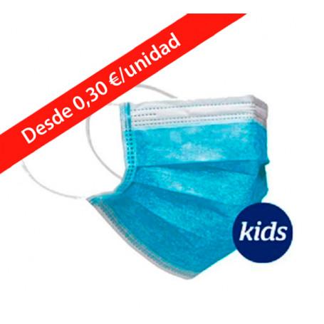 mascarilla-quirurgica-pediatrica-3-capas-azul-goya