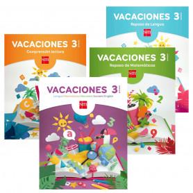 Vacaciones 3 Educación Primaria Editorial SM