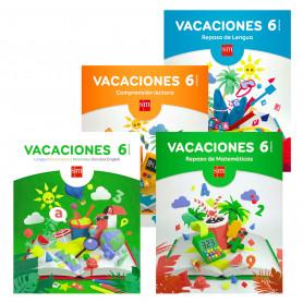 Vacaciones 6 Educación Primaria Editorial SM