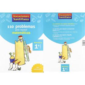 110 Problemas Matemáticas 1º Educación Primaria Santillana